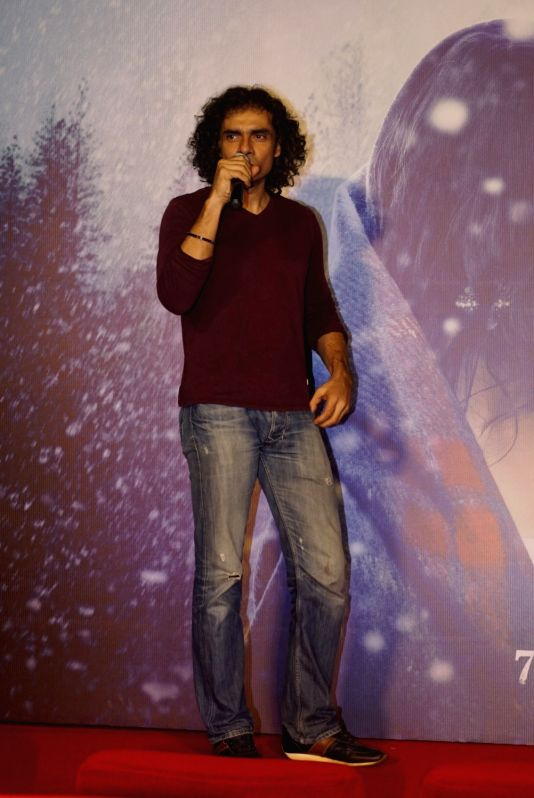 "Filmmaker Imtiaz Ali at the trailer launch of his upcoming film ""Laila Majnu"" in Mumbai on Aug 7, 2018. - Imtiaz Ali"