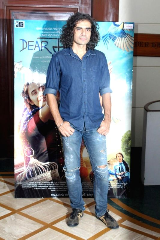 Filmmaker Imtiaz Ali during the media interaction of film Dear Maya in Mumbai, on May 22, 2017. - Imtiaz Ali