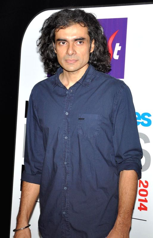 Filmmaker Imtiaz Ali during the Red carpet of HT Delhi`s Most Stylish Awards at the Oberoi Hotel Gurgaon on April 18, 2014. - Imtiaz Ali