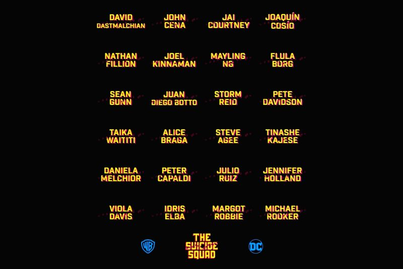 James Gunn announces full cast of 'The Suicide Squad'