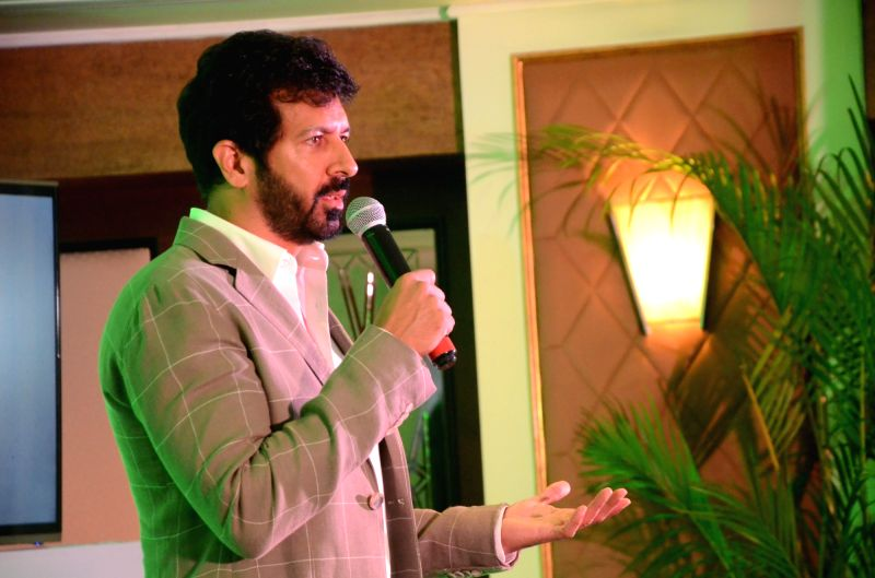 Filmmaker Kabir Khan during an Amazon programme in Mumbai on April 11, 2017. - Kabir Khan