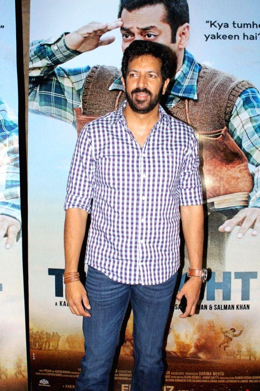 "Filmmaker Kabir Khan during the teaser launch of film ""Tubelight"" in Mumbai on May 3, 2017. - Kabir Khan"