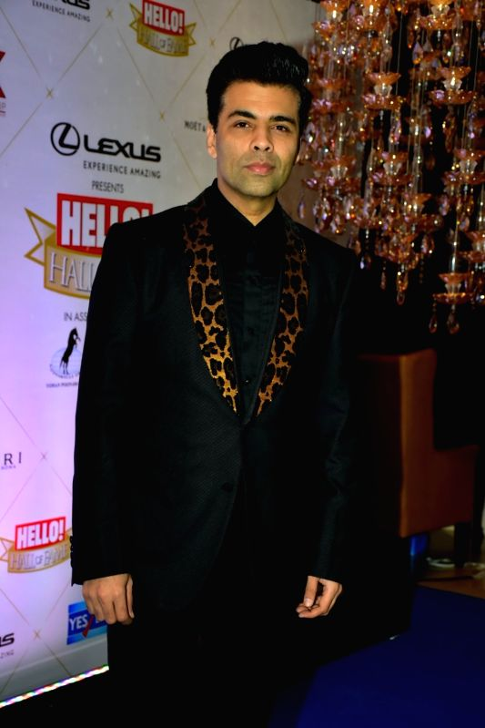 Image result for hello hall of fame awards 2018 Karan Johar image