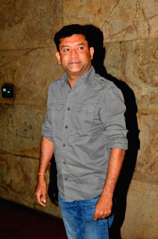 Filmmaker Ken Ghosh during the screening of film Titly in Mumbai on Oct 29, 2015. - Ken Ghosh