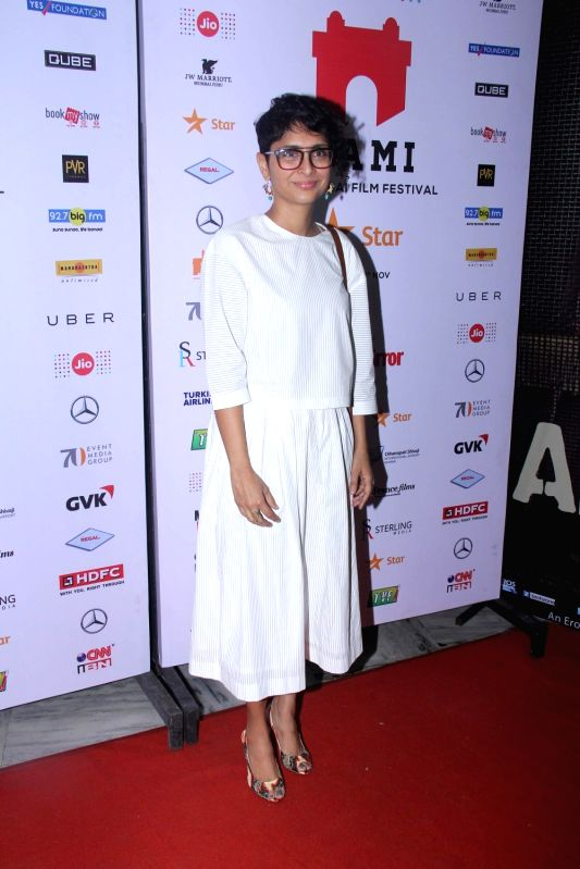 Filmmaker Kiran Rao during the Jio MAMI 17th Mumbai Film Festival in Mumbai, on Oct 30, 2015. - Kiran Rao