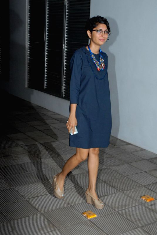 Filmmaker Kiran Rao during the success party of the films Shahid and Ship of Theseus in Mumbai on May 13, 2014. - Kiran Rao