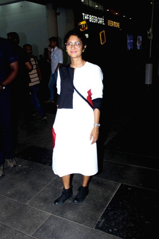Filmmaker Kiran Rao spotted at Phonix Pvr, in Mumbai, on May 25, 2017. - Kiran Rao