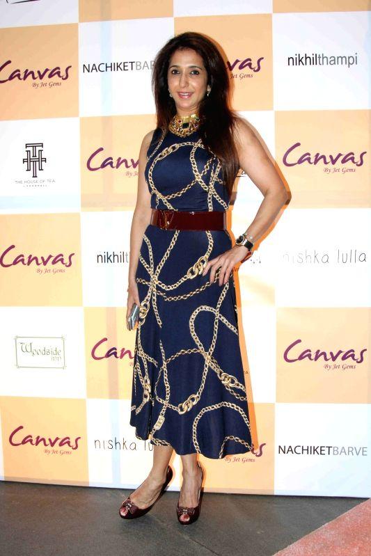 Filmmaker Krishika Lulla during the launch of jewellery brand, Canvas by Jet Gems in Mumbai on Dec 3, 2015. - Krishika Lulla