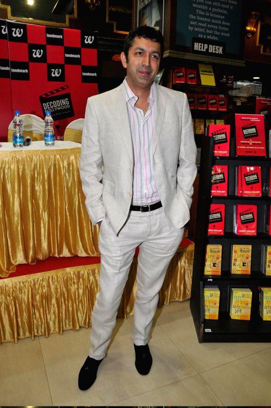 Filmmaker Kunal Kohli during the launch of book Decoding Bollywood by author Sonia Golani in Mumbai, on Aug 28, 2014. - Kunal Kohli