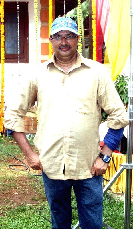 "Filmmaker Manoj Sharma during the on location shoot of his upcoming film ""Jhunjhuna"" in Mumbai on June 9, 2017. - Manoj Sharma"