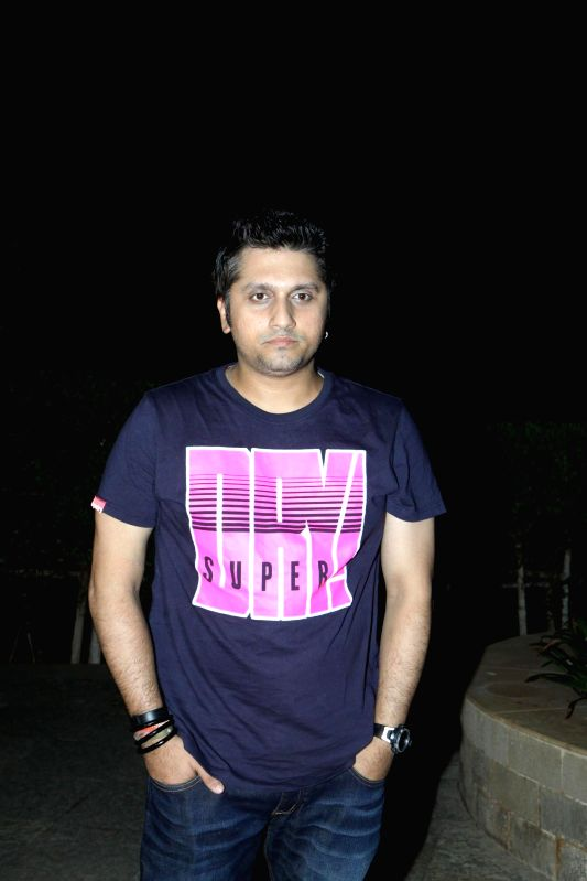 Filmmaker Mohit Suri during the press conference for the success of film Ek Villian at Hotel Sun N Sand in Mumbai, on July 1, 2014. - Mohit Suri