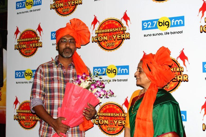 Filmmaker Nagraj Manjule during Maharashtra Icon Award in Mumbai on April 27, 2017. - Nagraj Manjule