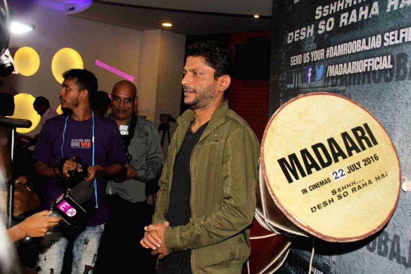 Filmmaker Nishikant Kamat during the special screening of film Madaari, in Mumbai, on July 17, 2016. - Nishikant Kamat