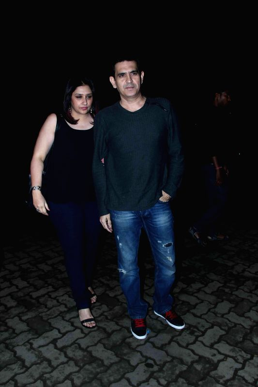 Filmmaker Omung Kumar during the screening of his forthcoming film Mary Kom, in Mumbai, on Aug. 26, 2014. - Omung Kumar