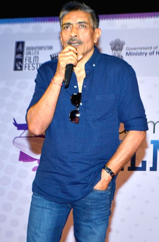 Filmmaker Prakash Jha addresses a press conference during the inaugural session of Brahmaputra Valley Film Festival in Guwahati on July 22, 2016. - Prakash Jha