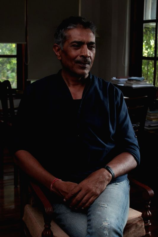 "Filmmaker Prakash Jha during the promotional interview of film ""Lipstick Under My Burkha"" in Mumbai on April 26, 2017. - Prakash Jha"