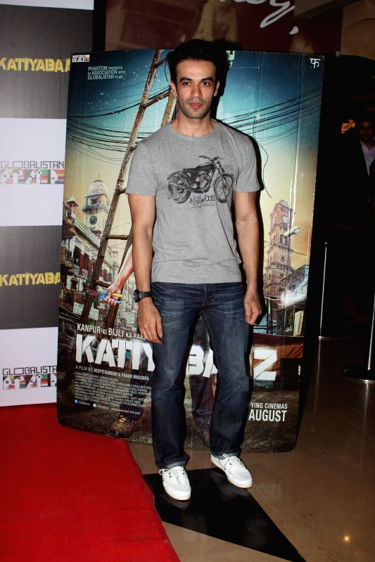 Filmmaker Punit Malhotra during the screening of the film Katiyabaaz in Mumbai, on Aug. 20, 2014. - Punit Malhotra