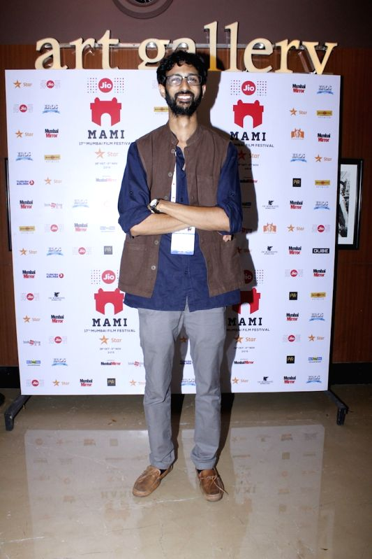 Filmmaker Raam Reddy during the premier of Kannada feature film Thithi, at MAMI Festival, in Mumbai, on Oct 31, 2015. - Raam Reddy