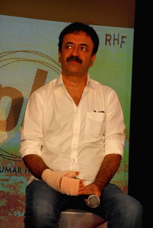 Filmmaker Rajkumar Hirani during the launch of second poster of film PK in Mumbai, on Aug. 20, 2014. - Rajkumar Hirani