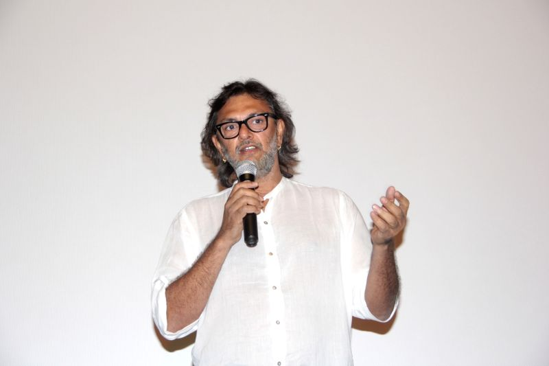 Filmmaker Rakeysh Omprakash Mehra during the 46th International Film Festival of India (IFFI-2015), in Panaji, Goa on Nov 27, 2015.