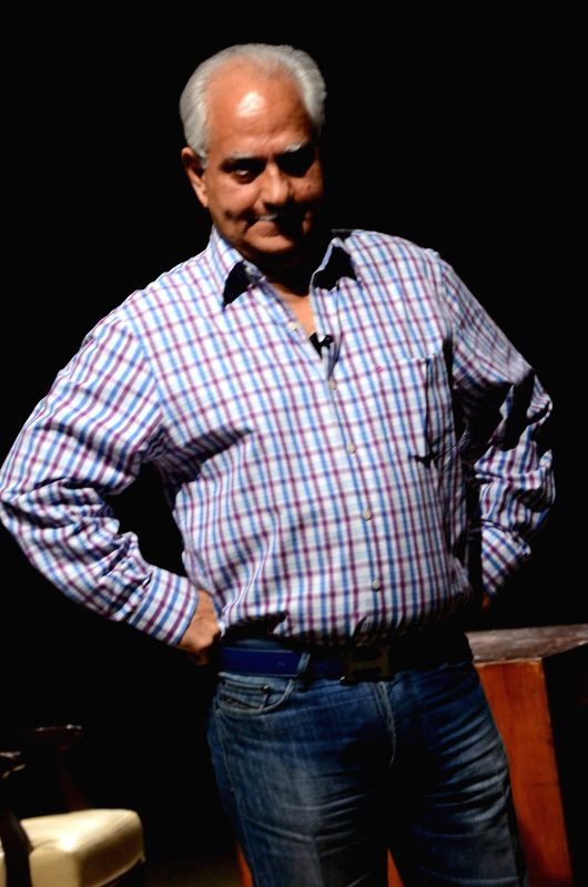 Filmmaker Ramesh Sippy celebrated 40 years of the film `Sholay` at a special function in Mumbai, on Aug 13, 2015.