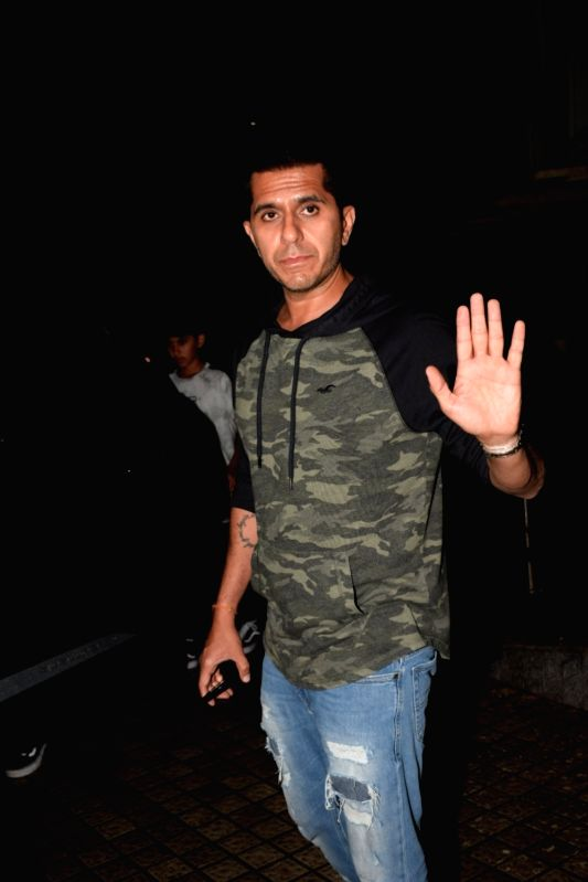 Filmmaker Ritesh Sidhwani seen at a cinema theatre in Juhu, Mumbai on July 27, 2018. - Ritesh Sidhwani