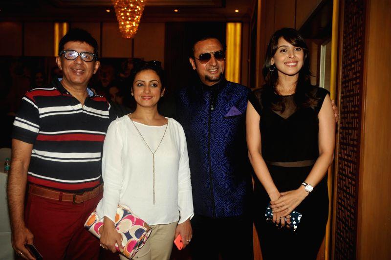 Filmmaker Rohit Kaushik, Gulshan Grover, Hrishitaa Bhatt and Divya Dutta during the music launch of film Chehere in Mumbai, on July 31, 2015. - Rohit Kaushik and Gulshan Grover