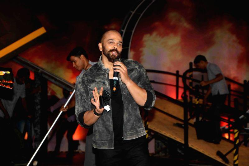 Filmmaker Rohit Shetty during the launch of Colors TV show Khatron Ke Khiladi Season 8 in Mumbai on May 9, 2017. - Rohit Shetty