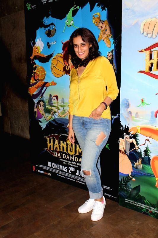 Filmmaker Ruchi Narain during the screening of film Hanuman Da Damdaar in Mumbai on June 1, 2017. - Ruchi Narain
