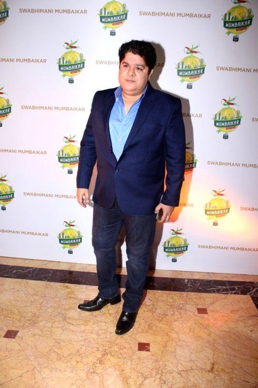 Filmmaker Sajid Khan during the Mumbaikar Festival 2016, in Mumbai, on June 3, 2016. - Sajid Khan