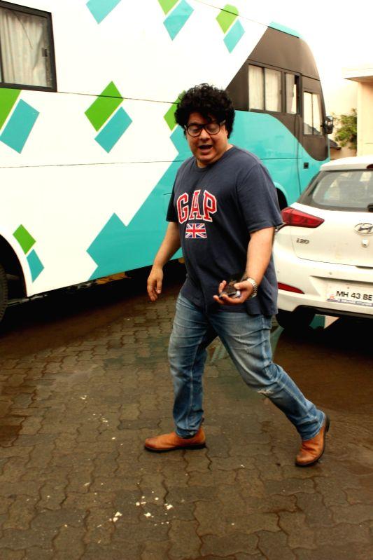 Filmmaker Sajid Khan seen at Mehboob Studio in Bandra, Mumbai on June 9, 2018. - Sajid Khan