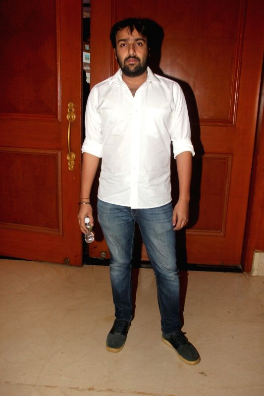 Filmmaker Shlok Sharma during a special announcement of Salute Siachen in Mumbai on Aug 10, 2016. - Shlok Sharma