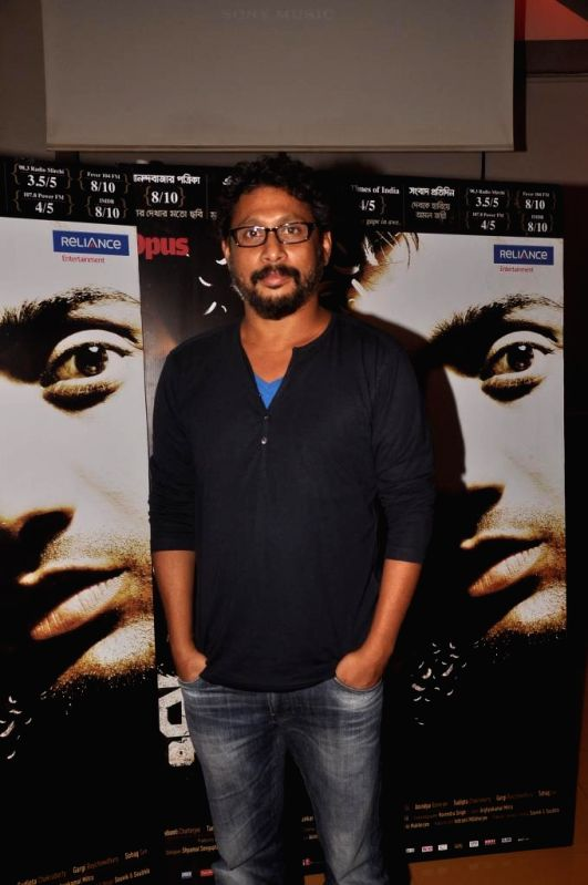 Filmmaker Shoojit Sircar during special screening of Bengali film Buno Haansh in Mumbai. - Shoojit Sircar