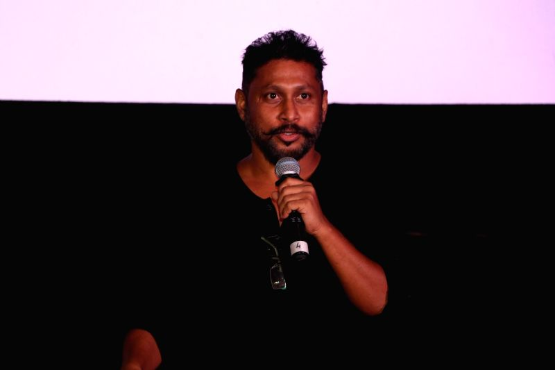 Filmmaker Shoojit Sircar during the trailer launch of film Pink in Mumbai, on August 9, 2016. - Shoojit Sircar