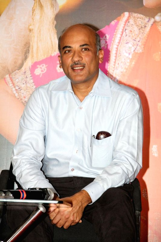 Filmmaker Sooraj Barjatya during the press conference organised to thank the audience for the love and support they have shown for the film Prem Ratan Dhan Payo in Mumbai on Nov 16, 2015.