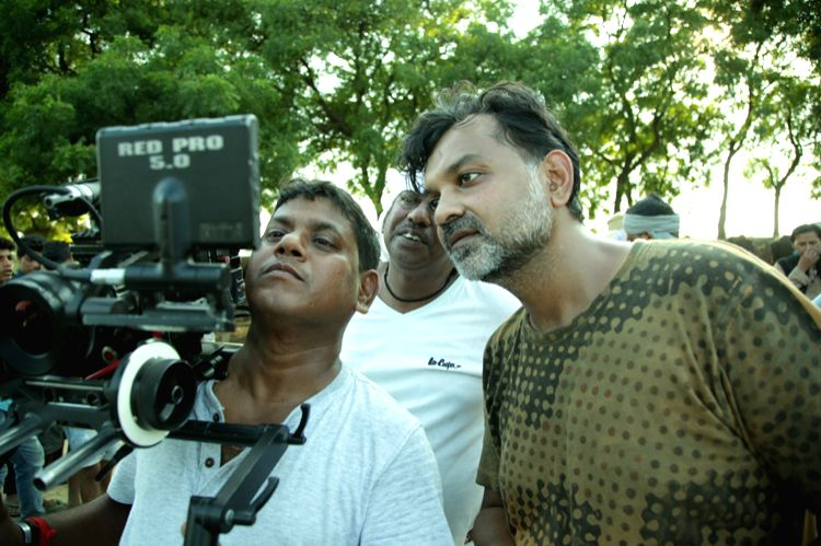 "Filmmaker Srijit Mukherji during the shooting of film ""Begum Jaan\"". (Photo Courtesy: Vishesh Films) - Srijit Mukherji"