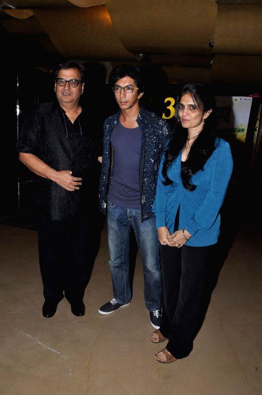 Filmmaker Subhash Ghai during the screening of film Yeh Hai Bakrapur at PVR in Mumbai, on May 7, 2014. - Subhash Ghai