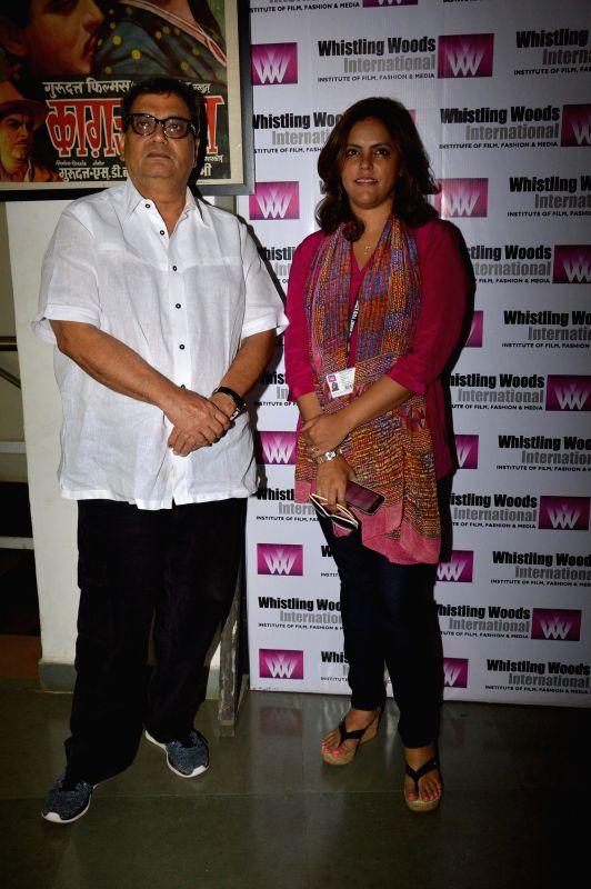 Filmmaker Subhash Ghai during Whistling Woods event at Filmcity in Mumbai on May 10, 2014. - Subhash Ghai