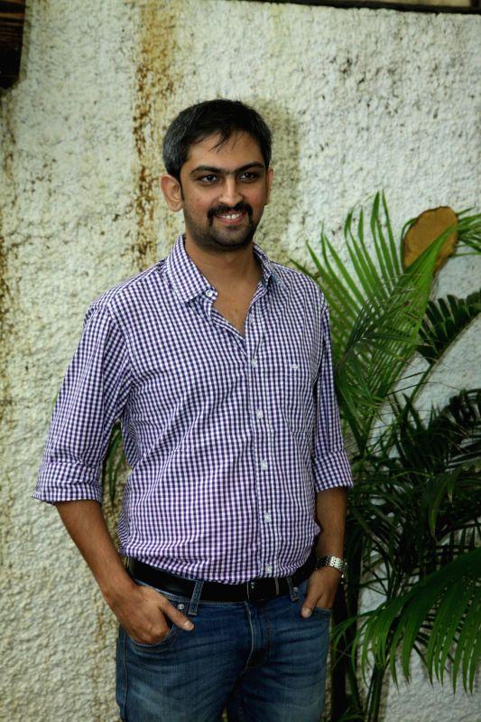 Filmmaker Suhrud Godbole during the trailer launch of Marathi film Baji in Mumbai, on August 1, 2014. - Suhrud Godbole