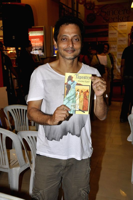 Filmmaker Sujoy Ghosh during the launch of book Tapestry in Mumbai on May 15, 2014. - Sujoy Ghosh