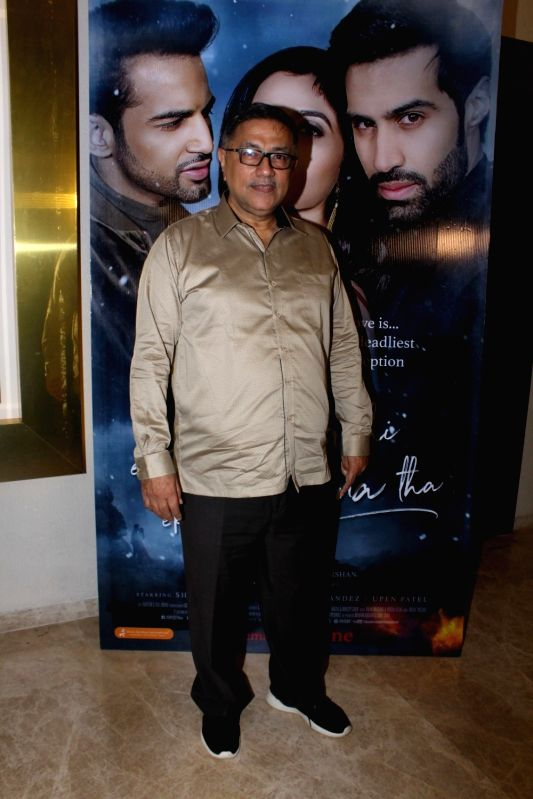 "Filmmaker Suneel Darshan during the music launch of film ""Ek Haseena Thi Ek Deewana Tha"" in Mumbai, on June 12, 2017. - Suneel Darshan"