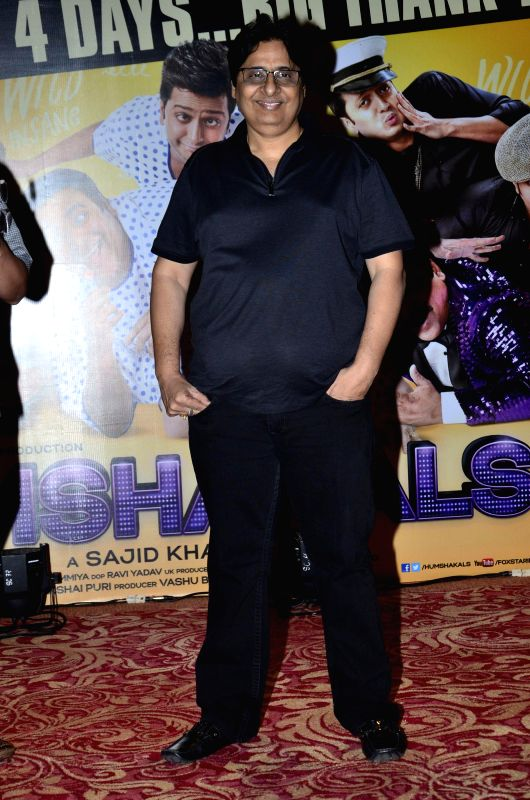 Filmmaker Vashu Bhagnani during the success party of film Humshakals organised by Fox Star Studios and filmmaker Vashu Bhagnani in Mumbai on June 24, 2014. - Vashu Bhagnani