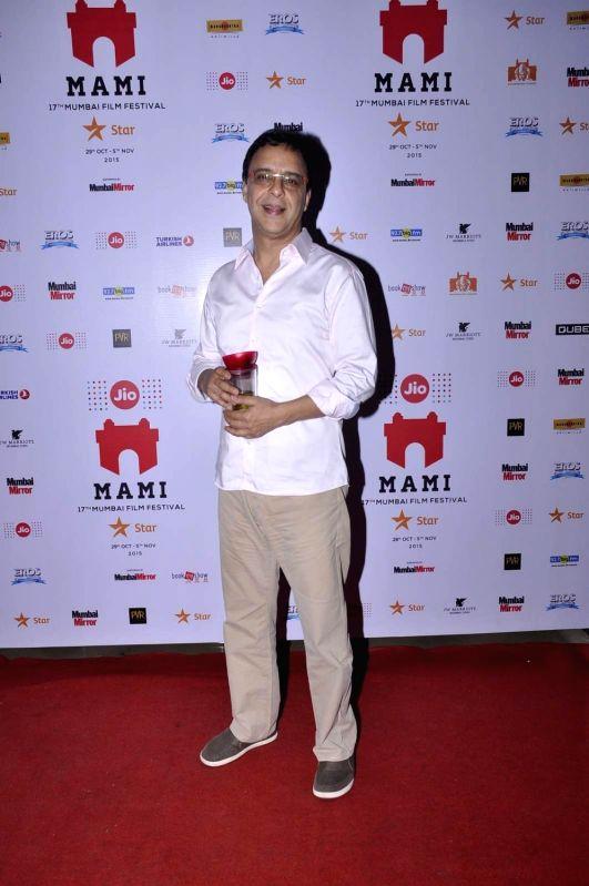 Filmmaker Vidhu Vinod Chopra at the Jio MAMI 17th Mumbai Film Festival in Mumbai, on Nov 1, 2015. - Vidhu Vinod Chopra