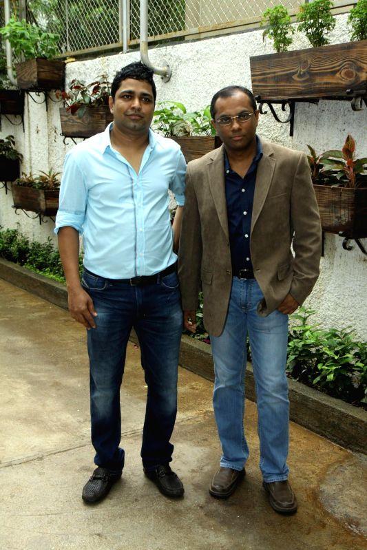 Filmmaker Vivek Rangachari during the trailer launch of Marathi film Baji in Mumbai, on August 1, 2014. - Vivek Rangachari