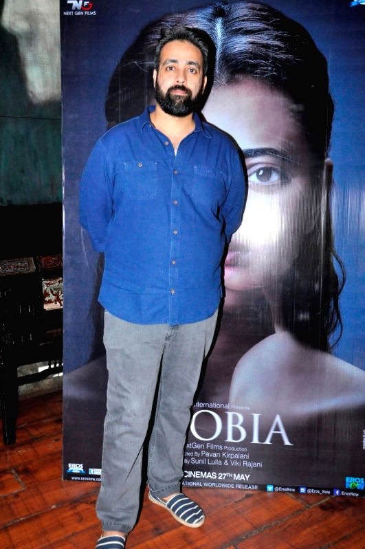 Filmmakers Pawan Kripalani during the media interaction of her upcoming film Phobia in Mumbai on May 25, 2016. - Pawan Kripalani