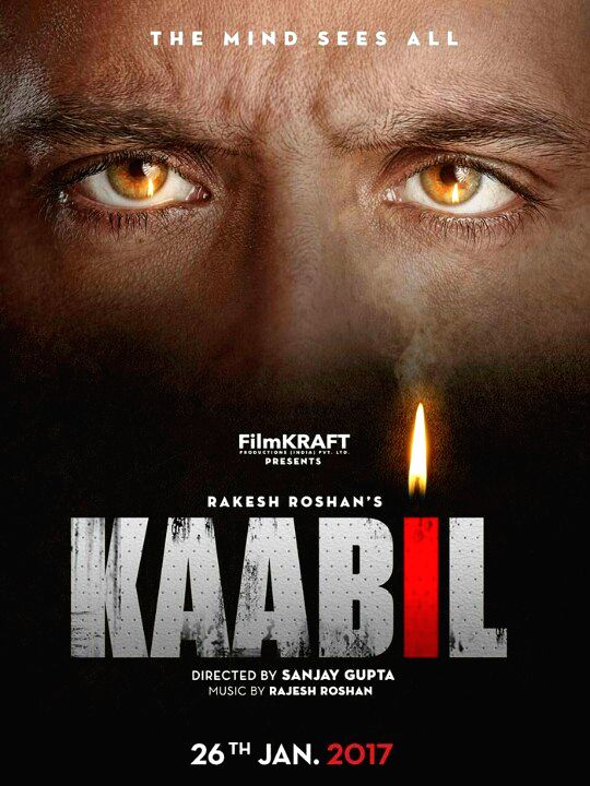First poster look of 'Kaabil'