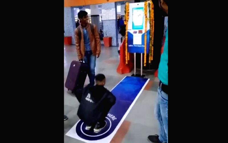 Fit India push at Delhi station impresses Twitterati