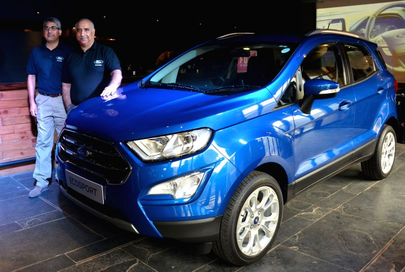 ford launches ecosport facelift. Black Bedroom Furniture Sets. Home Design Ideas
