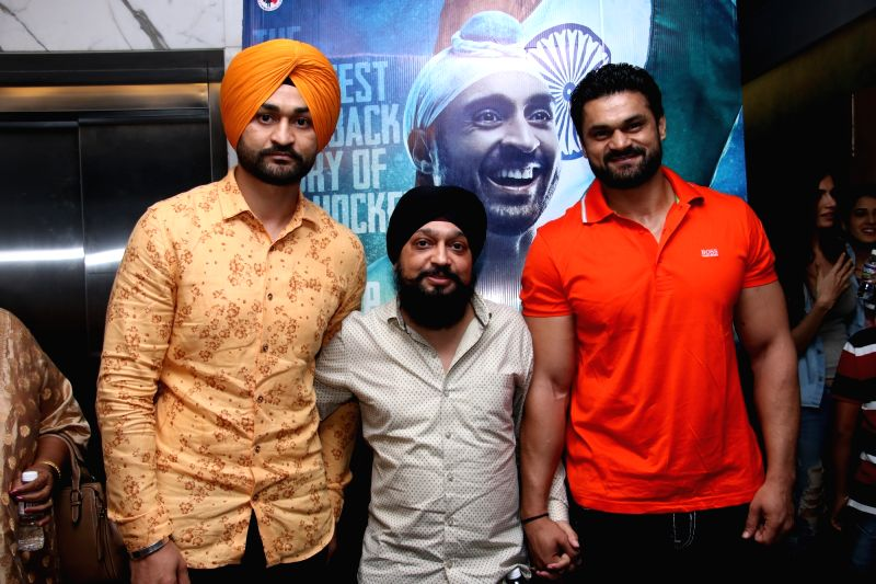 "Former Hockey player Sandeep Singh at the screening of ""Soorma"" in Mumbai on July 13, 2018. - Sandeep Singh"