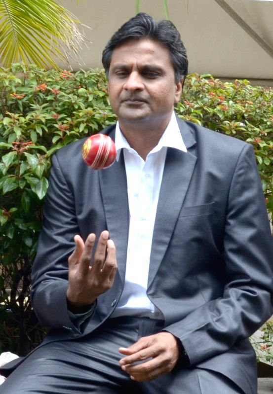 Former India cricketer Javagal Srianth at Microsoft's Machine Learning and Data Sciences Conference in Bengaluru, on Aug 8, 2016.
